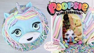🦄 Einhorn 3D Torte mit Surprise Inside und Gewinnspiel I POOPSIE Surprise UNICORN Cake