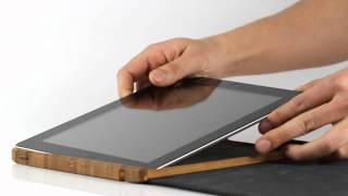 Grove Bamboo Case for New iPad