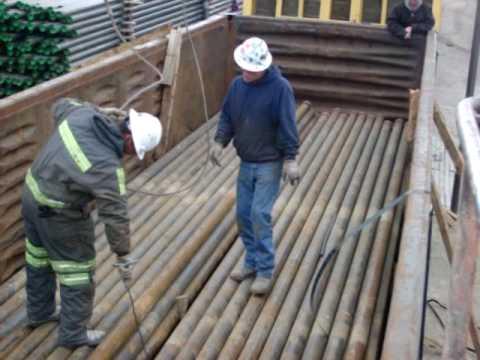 Fort Morgan Yard Unloading 4 Quot Gondola Youtube