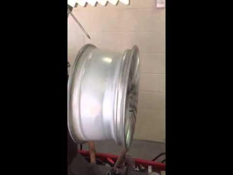 Straightened alloy wheel 4