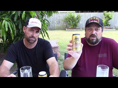 Great Northern Brewing Company Super Crisp Lager 3.5% ABV - SwillinGrog Beer Review