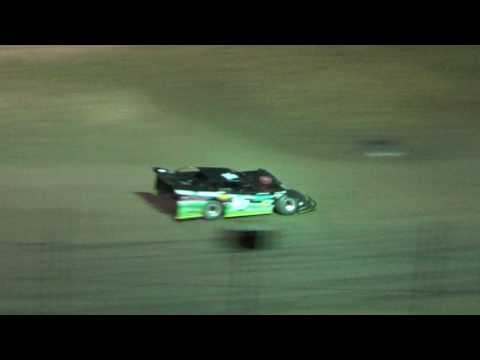 32. Late model B Feature at I-96 Speedway, Michigan on 05-26-17.