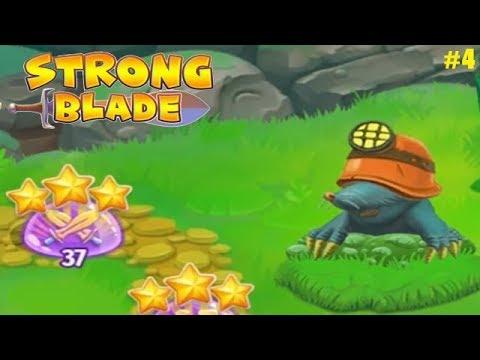 Strong Blade прохождение #4 (уровни 34-44) Замес с Кротом и завершение ремонта для Черепаха