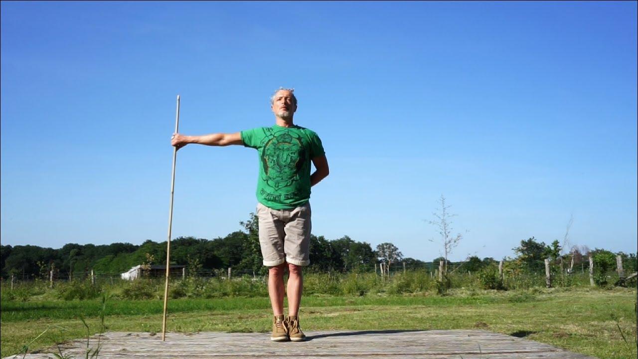 Qigong Baton Longévité : / position de repos - YouTube