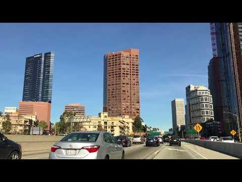 Take a little driving tour through downtown L.A. Downtown Los Angeles - Ritz Carlton -Tallest