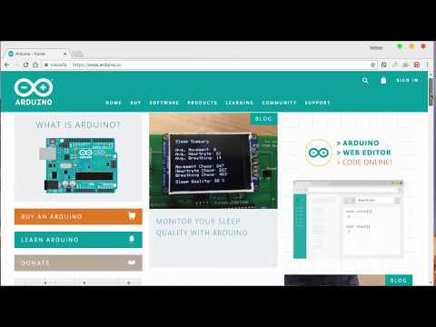 ดาวน์โหลด และ ติดตั้งโปรแกรม Arduino 1.8.5 [download And Install Arduino]