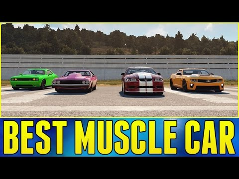 Forza Horizon 2 Online : BEST MUSCLE CAR!!!   YouTube