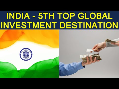 India is the 5th Top International Investment Destination | OneIndia News