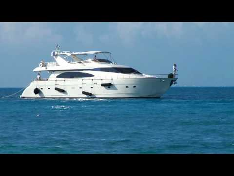 Cancun yacht charters rentals Rent an Azimut luxury