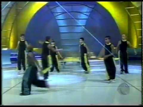 LambaMix Mirim de Cambuí - MG no programa Raul Gil ano 2000 (rede record)