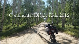 Continental Divide Ride 2016