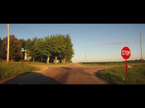 Driving on Seneca County Road 104 in rural Ohio