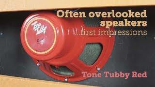 Tone Tubby Red, hemp cone Alnico 12 speaker - Zilla Cabs