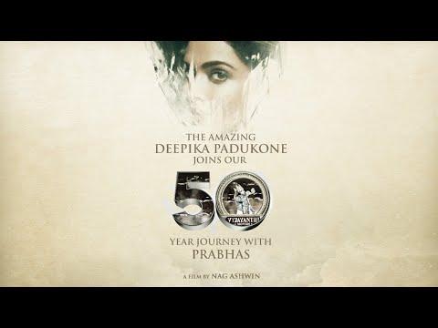 Welcome Deepika Padukone   Prabhas   Nag Ashwin   Vyjayanthi Movies   Prabhas 21