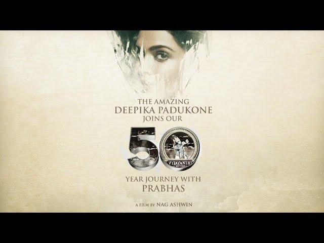 Welcome Deepika Padukone | Prabhas | Nag Ashwin | Vyjayanthi Movies | Prabhas 21 - Vyjayanthi Network