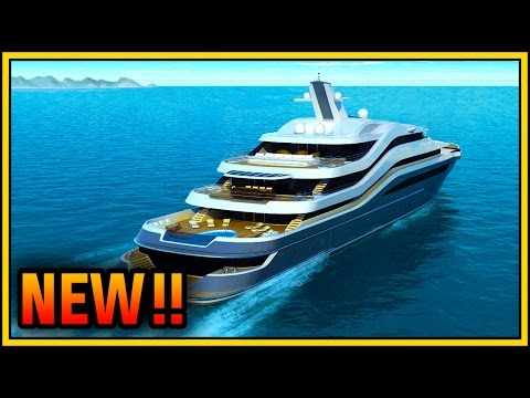 GTA 5 Yacht Gameplay: Customization & DLC Upgrades!! (GTA 5 Executives and Other Criminals)