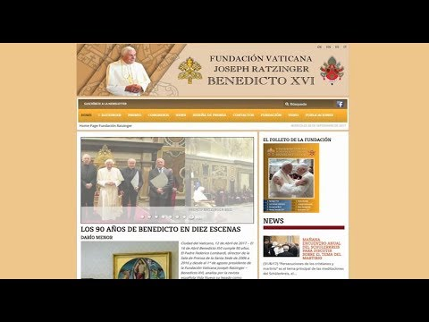 Ratzinger Foundation to study the ecological proposals of popes Benedict XVI and Francis
