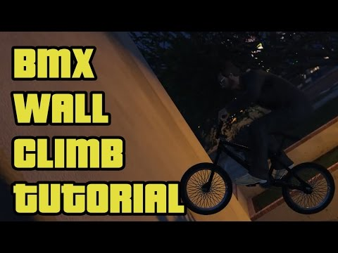 BMX Wall Climb Tutorial || GTA V || Bunny-hop Speed Tutorial