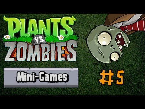 PLANTS VS. ZOMBIES - Mini-Games (Portal Combat, Column Like