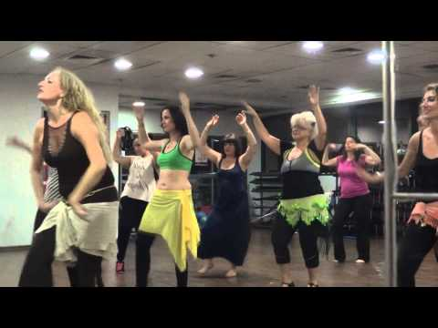 Belly Dance class improvisation wly Wly