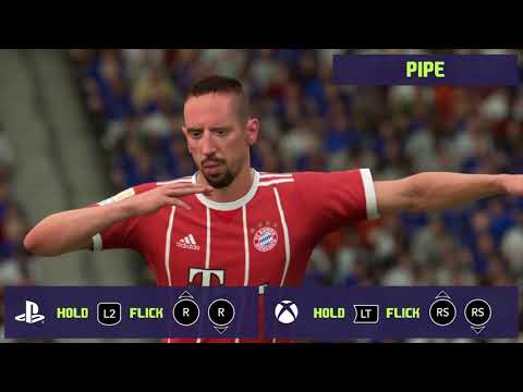 All Fifa19 'Finishing Moves' Celebrations