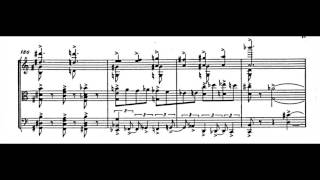 Alfred Schnittke - String Trio (w/ score) (1985)