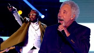 Tom Jones and fellow coaches perform together! | The Voice U...