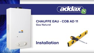 Installation du COB AD 11GN Gaz Naturel