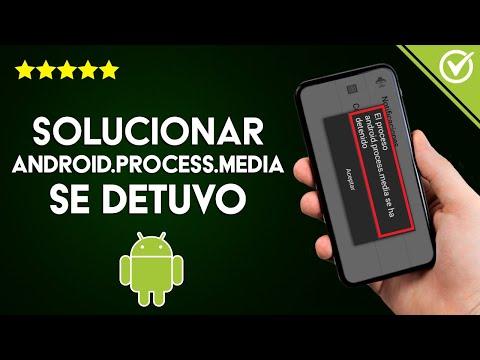 Cómo Solucionar, Reparar y Evitar el Error 'android.process.media se Detuvo' - Muy Fácil