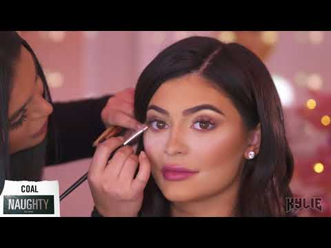 Kylie Jenner Naughty and Nice Palette Tutorial with Hrush