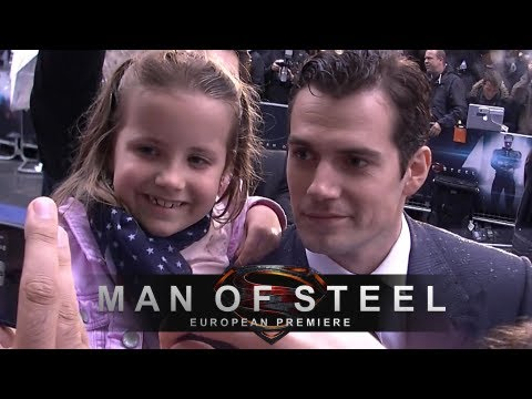 Man of Steel - The Superman Movie Premiere in London