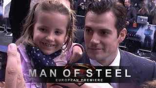 Man of Steel - The Superman Movie Premiere in London