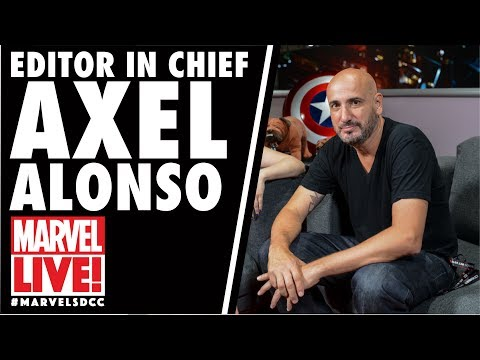 Editor in Chief Axel Alonso Stops By Marvel LIVE! at San Diego Comic-Con 2017
