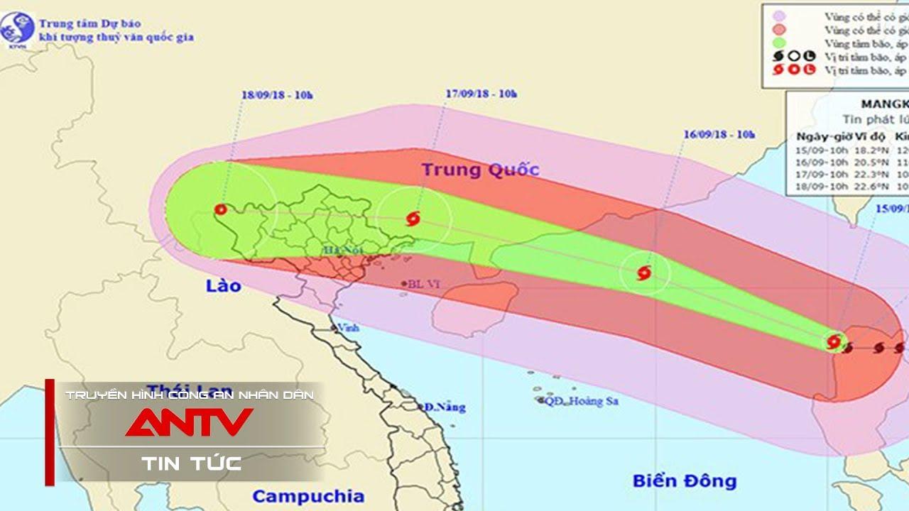Cơn BÃO số  6 - Lực lượng CAND chủ động ứng phó với bão số 6 | Tin tức | Tin tức mới nhất | ANTV