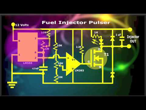 Fuel Injector Pulser