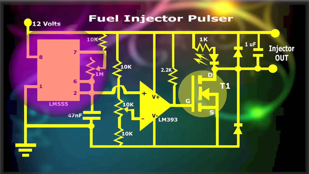 Fuel Injector Pulser Youtube 555 Timer Wiring Diagrams