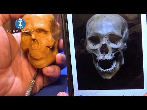 Sculpting PIRATE SKULL  / Helios Ramdez (materials:clay And Wax)
