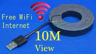 How to get free WiFi Internet anywhere iPhone get free WiFi at home without a router WiFi free thumbnail