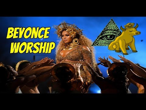 BEYONCE WORSHIPED LIKE A GOD IN OUR WORLD [GOLDEN CALF/IDOLATRY]