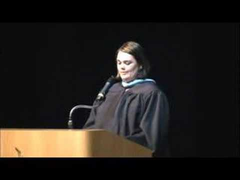 Global Connections Graduation Speech 2008