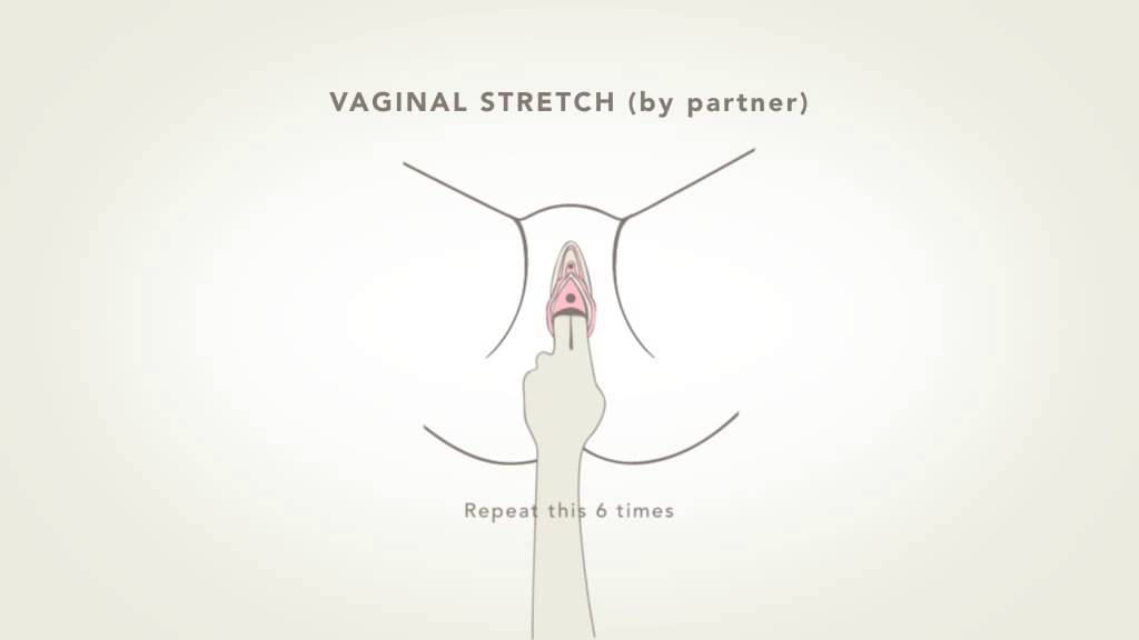 Vaginal Stretch By Partner