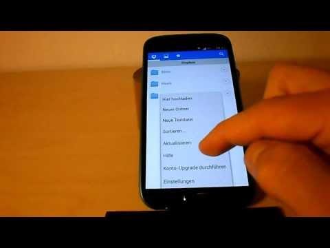 Samsung Galaxy S4 S6 S7 S8 S9 - Bilder, Musik, Videos mit Dropbox auf PC verschieben [Deutsch/HD]