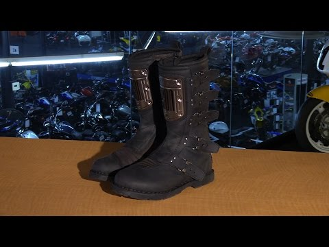 Icon One Thousand Elsinore HP Boots Brown 8 3403 0993