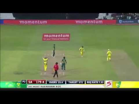 Miller,s 118* chase against Australia