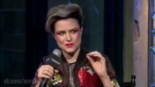 Эксклюзивное интервью со звездой сериала Мир Дикого Запада Эван Рэйчел Вуд (на русском языке)