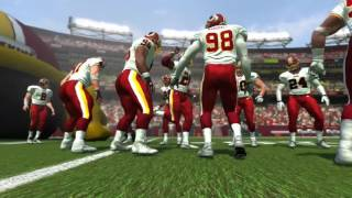 2007-2006 Washington Redskins 4 Stars Player Introductions Madden NFL 07 PS3