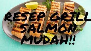 Bahan-bahan: 2 porsi 500 gr fresh salmon 1 buah zucchini 1 buah tomat Baby broccoli Asparagus 1/2 lemon secukupnya minyak secukupnya Garam ...
