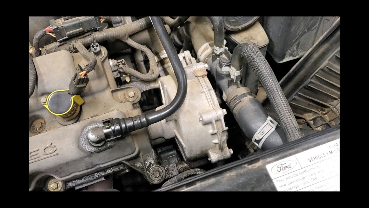 Ford Freestyle Water Pump Replacement Youtube