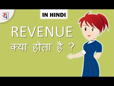 Company's Revenue explanation in Hindi | How is Revenue Calculated in Hindi
