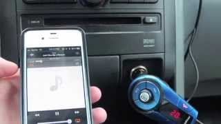 GoGroove SmartMini Bluetooth FM Transmitter IN Car    @gogroove